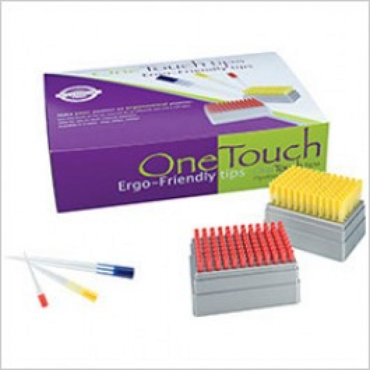 1000ul One Touch Barrier Pipette Tips Sterile 768 Pack