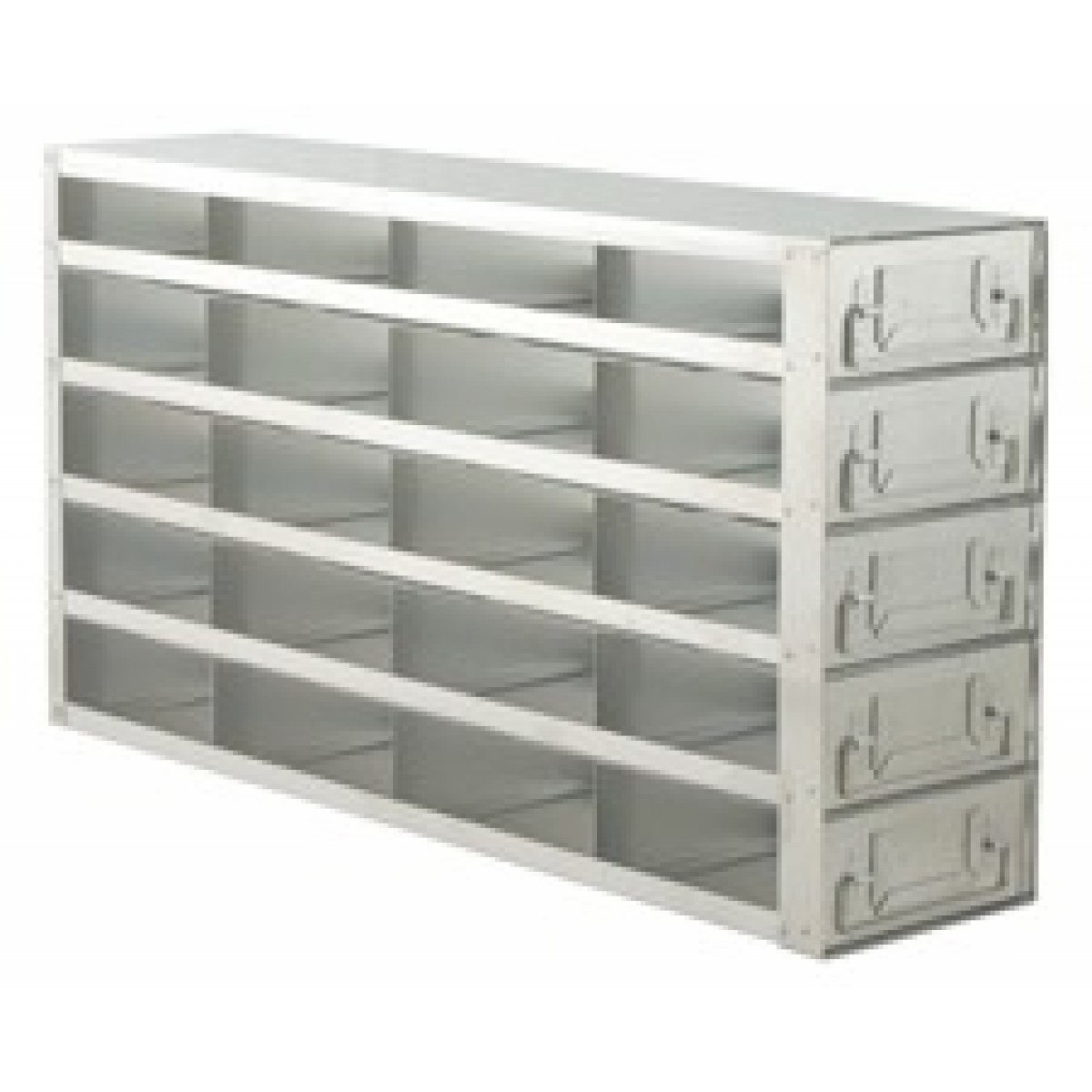 Upright Metal Freezer Rack For 2 Quot Boxes Drawer Style 20