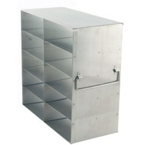 2 x 5 Upright Freezer Rack for standard 2 inch boxes