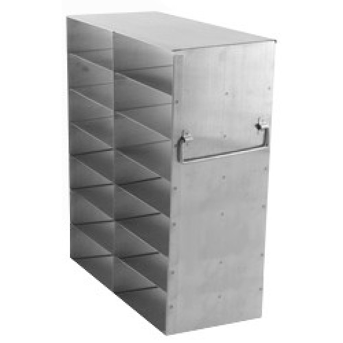 2 x 7 Upright Freezer Rack for standard 2 inch boxes