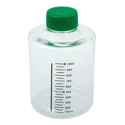 490cm² Roller Bottle, Tissue Culture Treated, Printed Graduations, Vented Cap, Sterile