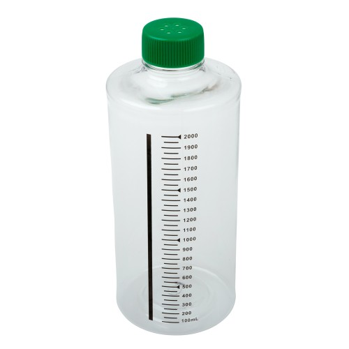 850cm² Roller Bottle, Tissue Culture Treated, Printed Graduations, Vented Cap, Sterile
