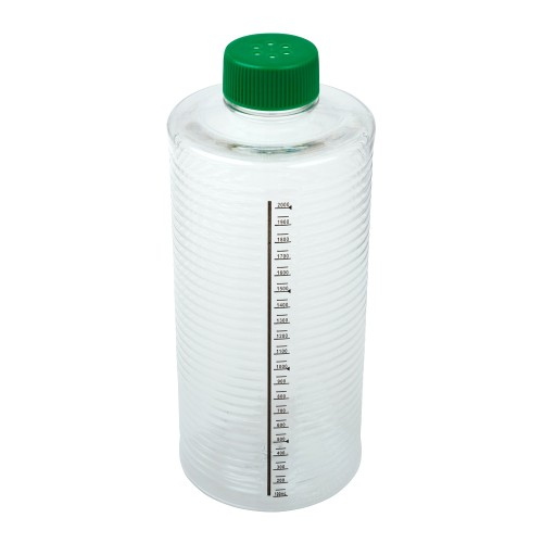 1900cm² ESRB Roller Bottle, Tissue Culture Treated, Printed Graduations, Vented Cap, Sterile
