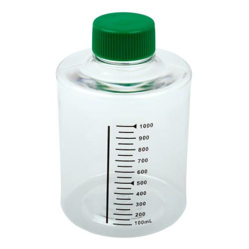 1,000mL Roller Bottle, Non-treated Suspension Culture, Printed Graduations, Non-Vented Cap, Sterile