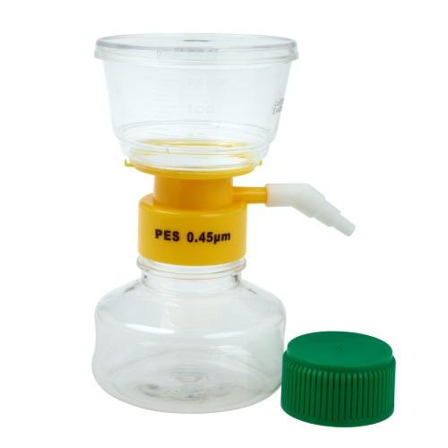 150mL Filter System, PES Filter Material, 0.45μm, 50mm, Sterile