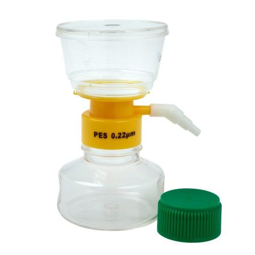 150mL Filter System, PES Filter Material, 0.22μm, 50mm, Sterile