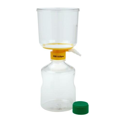 1000mL Filter System, PES Filter Material, 0.22μm, 90mm, Sterile