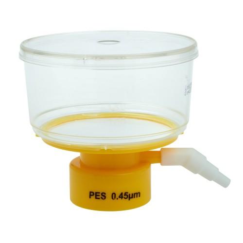 250mL Bottle Top Filter, PES Filter Material, 0.45μm, 50mm, Sterile