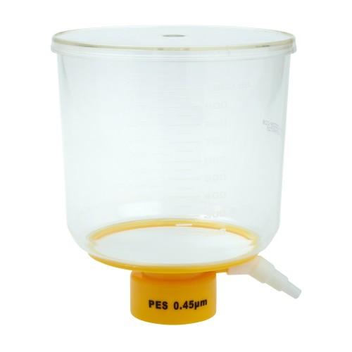 1000mL Bottle Top Filter, PES Filter Material, 0.45μm, 90mm, Sterile