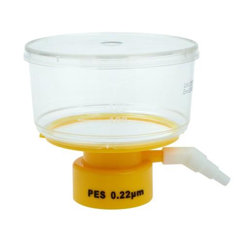 250mL Bottle Top Filter, PES Filter Material, 0.22μm, 50mm, Sterile