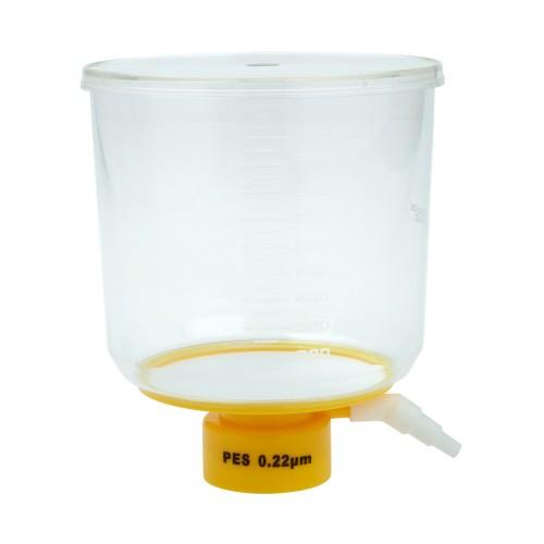 1000mL Bottle Top Filter, PES Filter Material, 0.22μm, 90mm, Sterile