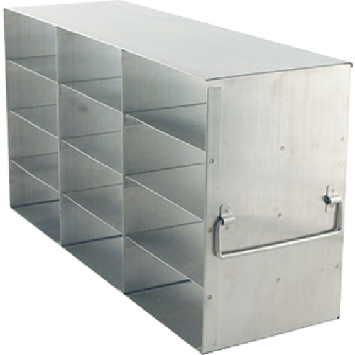 3 x 4 Upright Freezer Rack for standard 2 inch boxes