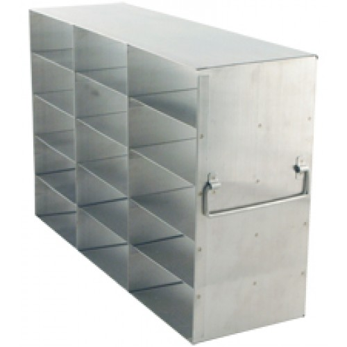 3 x 5 Upright Freezer Rack for standard 2 inch boxes