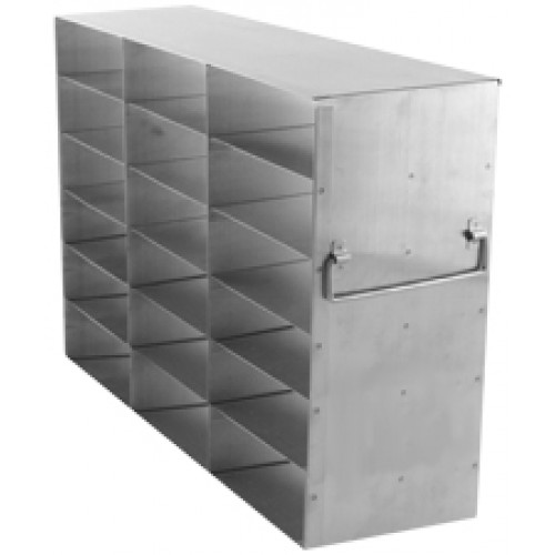 3 x 6 Upright Freezer Rack for standard 2 inch boxes