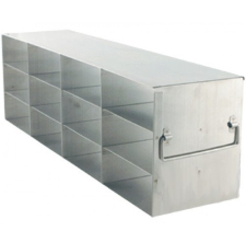 4 x 3 Upright Freezer Rack for standard 2 inch boxes