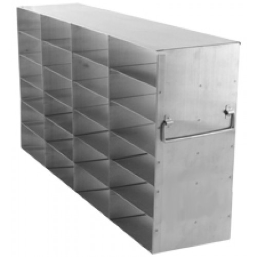 4 x 6 Upright Freezer Rack for standard 2 inch boxes