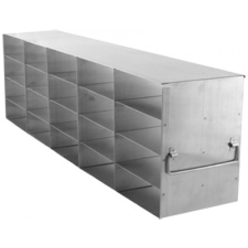 5 x 4 Upright Freezer Rack for standard 2 inch boxes