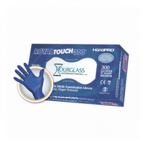 RoyalTouch300 Purple Nitrile Gloves, Extra Large, 300/box, 10 Boxes/case