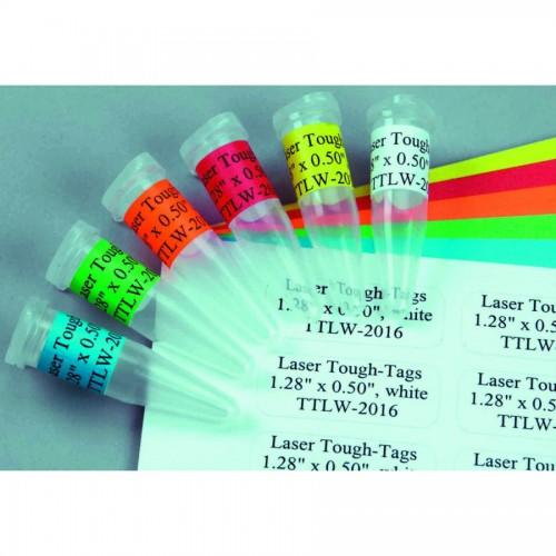 """Blue Laser Tough-Tags 1.28 x 0.50""""  2,125/pk"""