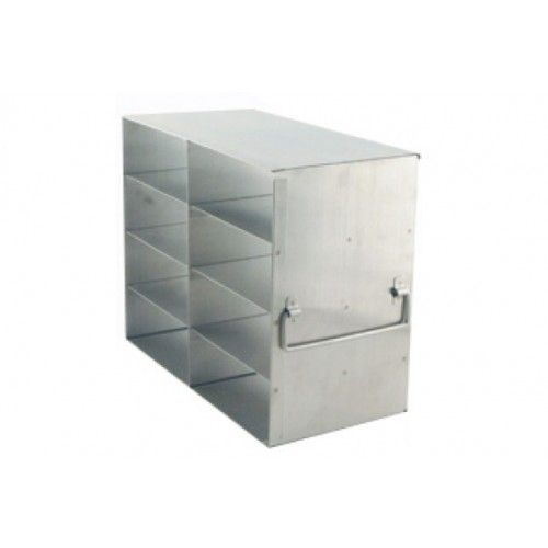 2 x 4 Upright Freezer Rack for standard 2 inch boxes