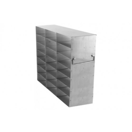 3 x 7 Upright Freezer Rack for standard 2 inch boxes