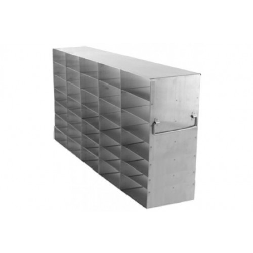 5 x 7 Upright Freezer Rack for standard 2 inch boxes