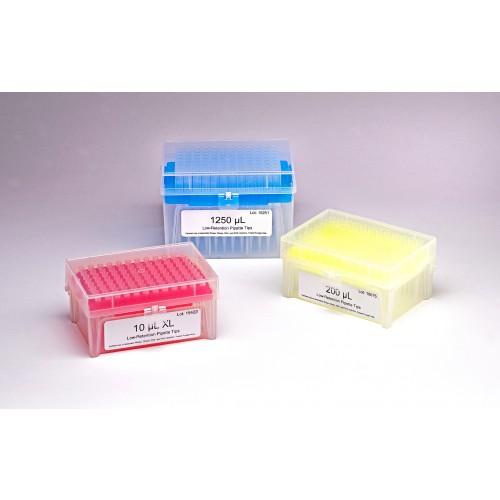 200uL Racked Filtered Vertex Tips, Natural, Graduated, 960/pack, 5 Packs/Case