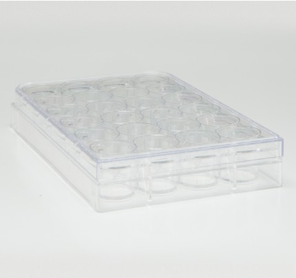 12 Well Cell Culture Plate, TrueLine, 50/case